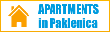 Apartments in Paklenica