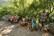 Velika Paklenica - the main canyon