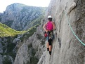 This photo is for the new Paklenica climbing guidebook.